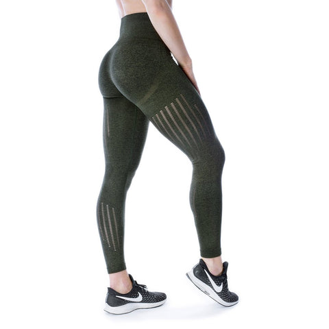 Leggings, Vented, Forest Green