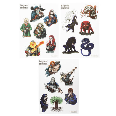 Sticker Set, Asgard