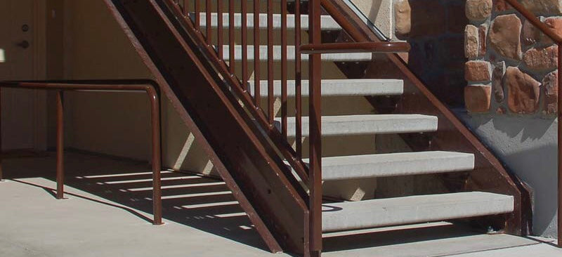 Hardy MFG Concrete Stair Treads