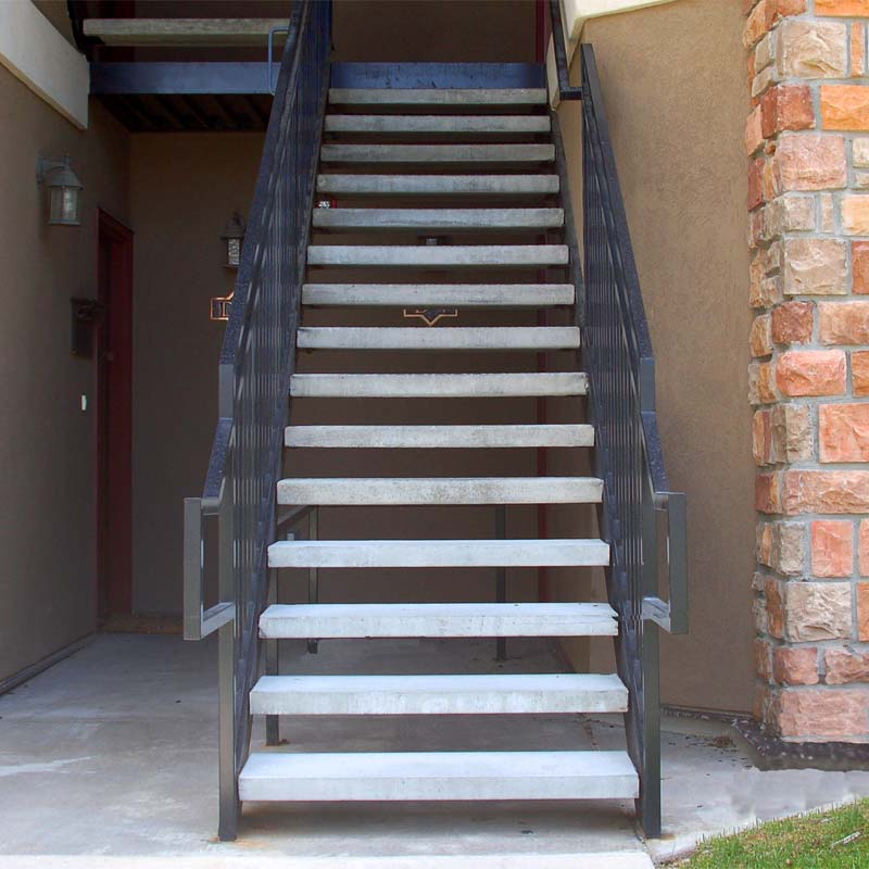 Hardy MFG Concrete Stair Treads in Utah and Colorado