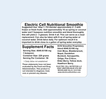 Electric Cell Nutrition Smoothie