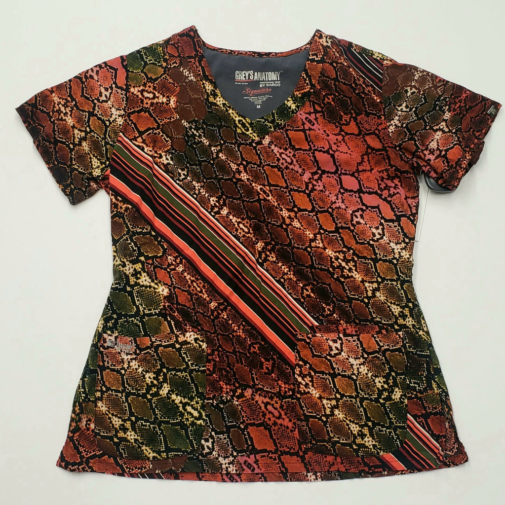 [product vendor] Grey's Anatomy Scrub Top, Size Medium - Sandy's Savvy Chic Resale Boutique