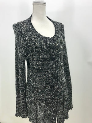 BCBG Black & White Sweater