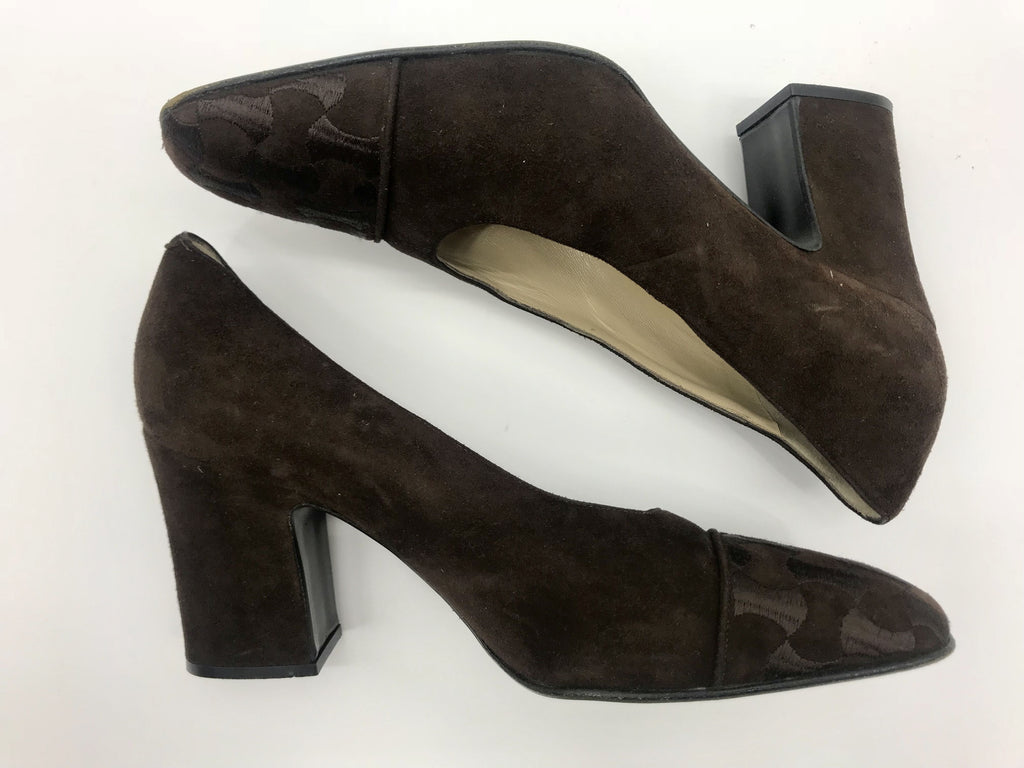 Bally Brown Shoes, Heels