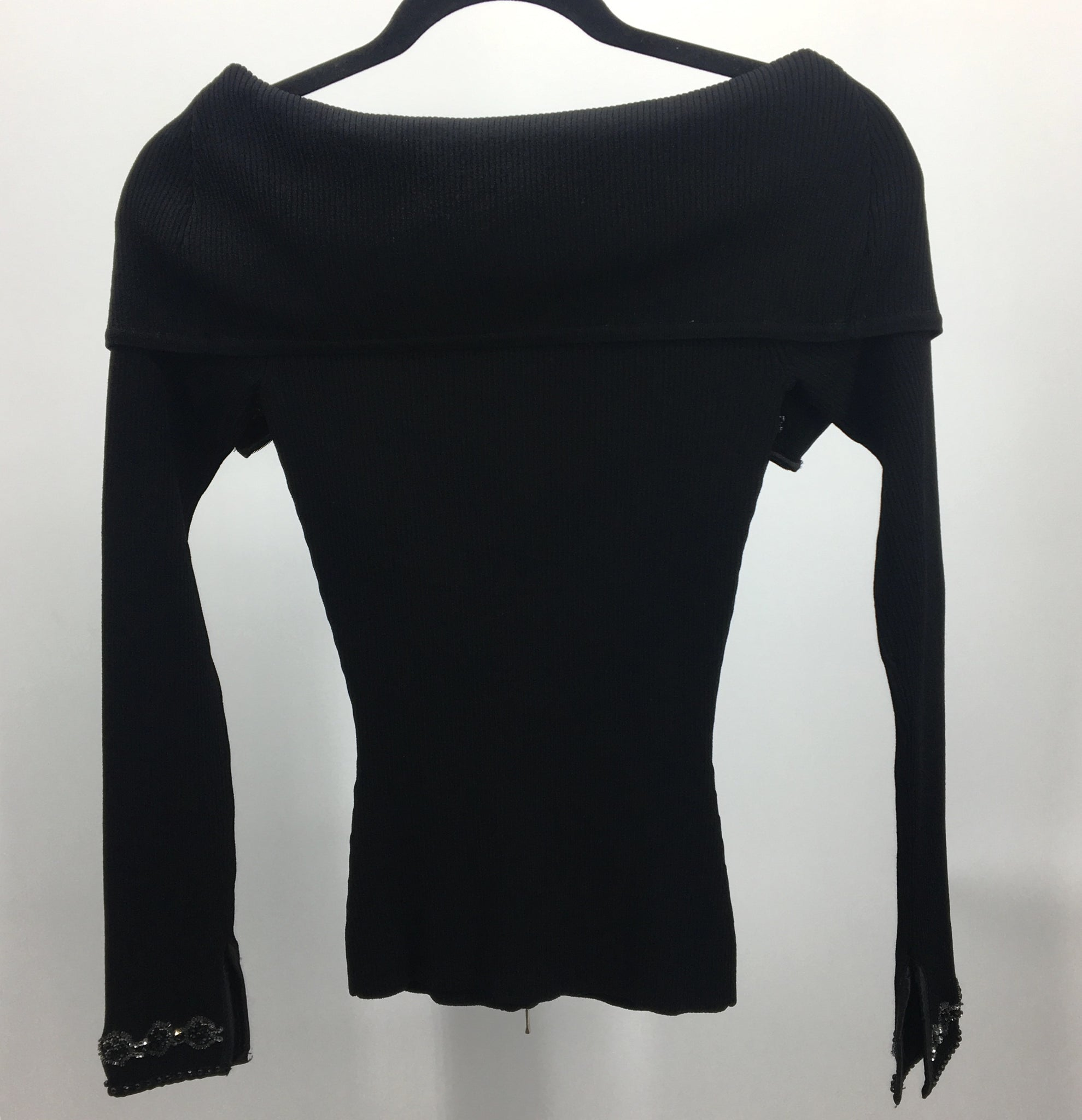 Cache Black Sweater