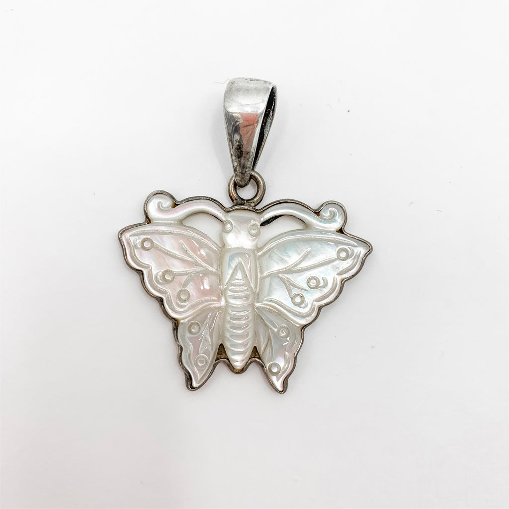 Charles Albert Mother of Pearl Pendant