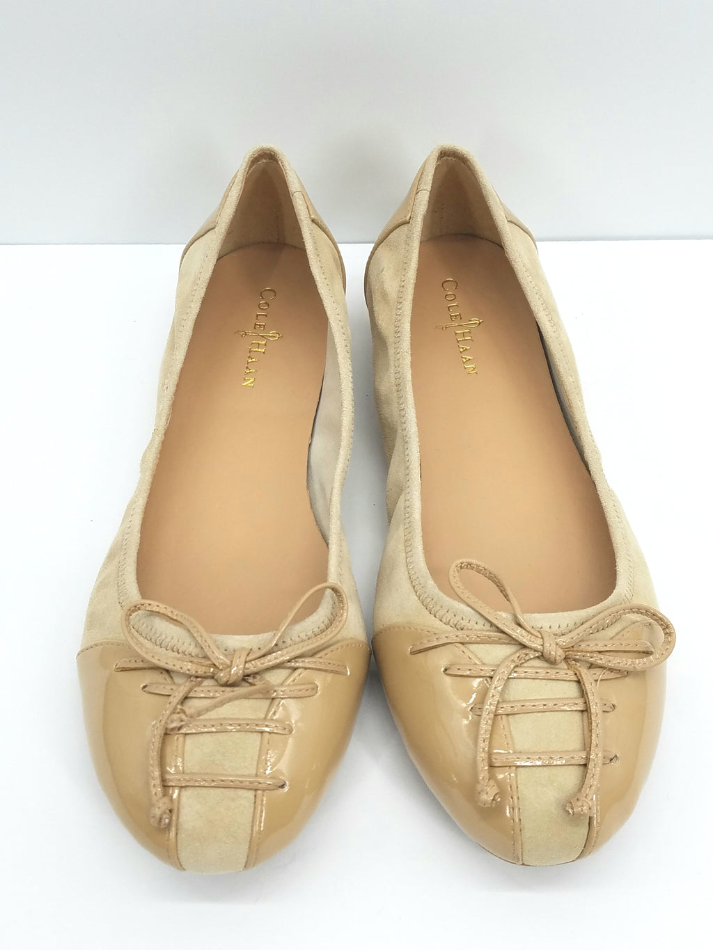 Cole Haan Beige Shoes, Flats