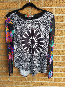 Desigual Black & White Shirt