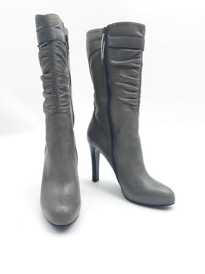 Eclat Gray Shoes, Boots