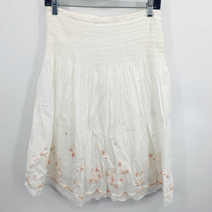 Elie Tahari White Skirt