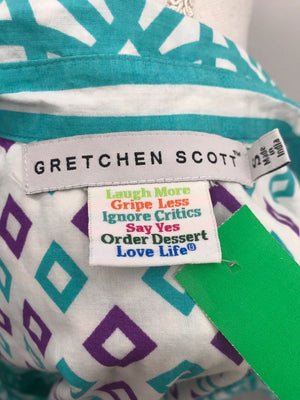 Gretchen Scott Turquoise Dress, Casual