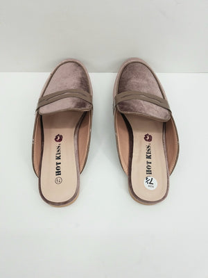Hot Kiss Taupe Shoes, Flats