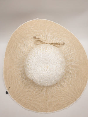 Ivanka Trump Tan Hat, Straw