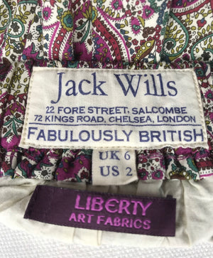 Jack Wills Cream Skirt