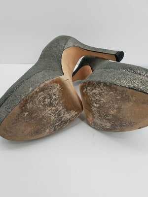 Joan & David Silver Shoes, Heels