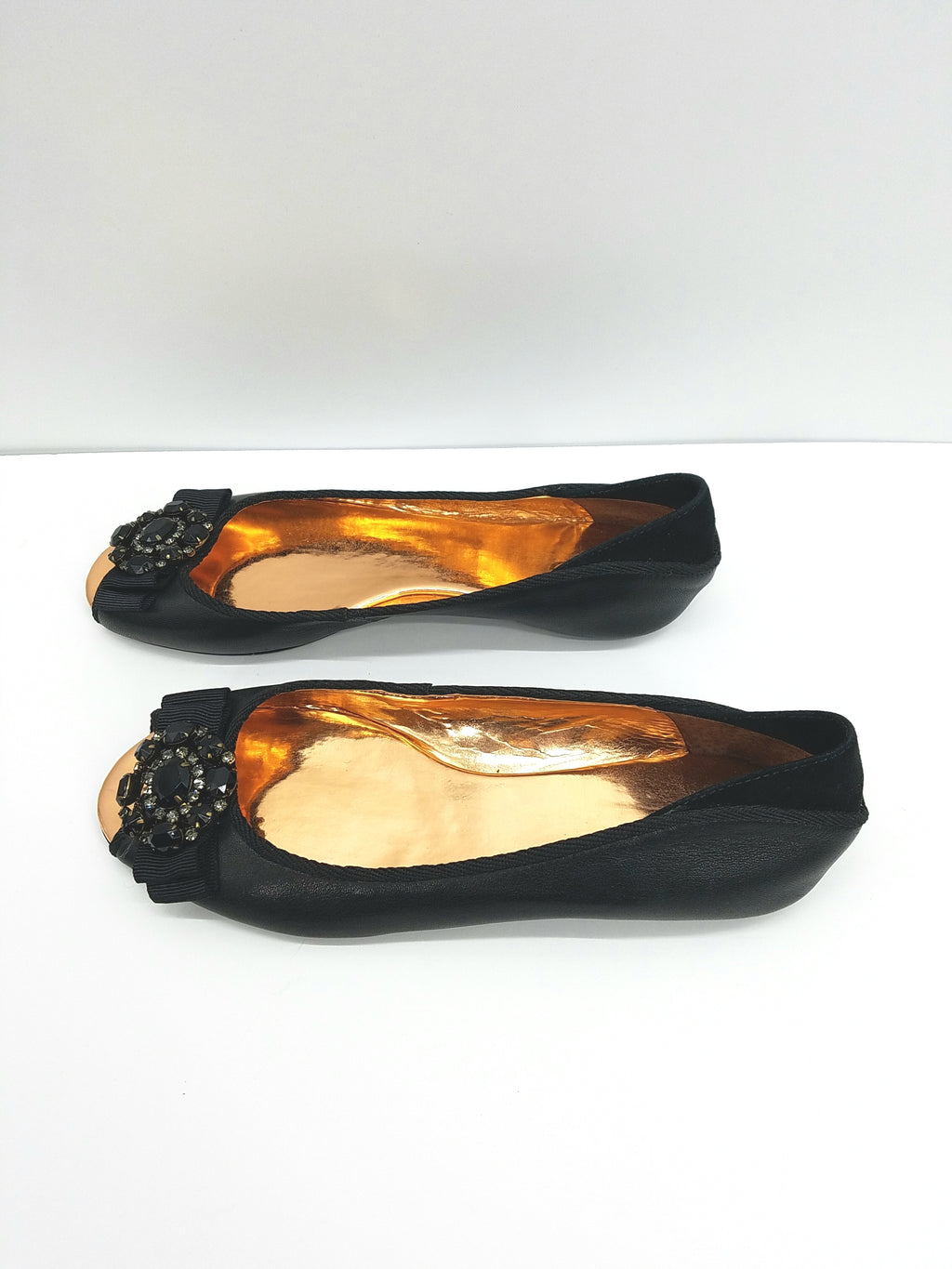 KG Black Shoes, Flats