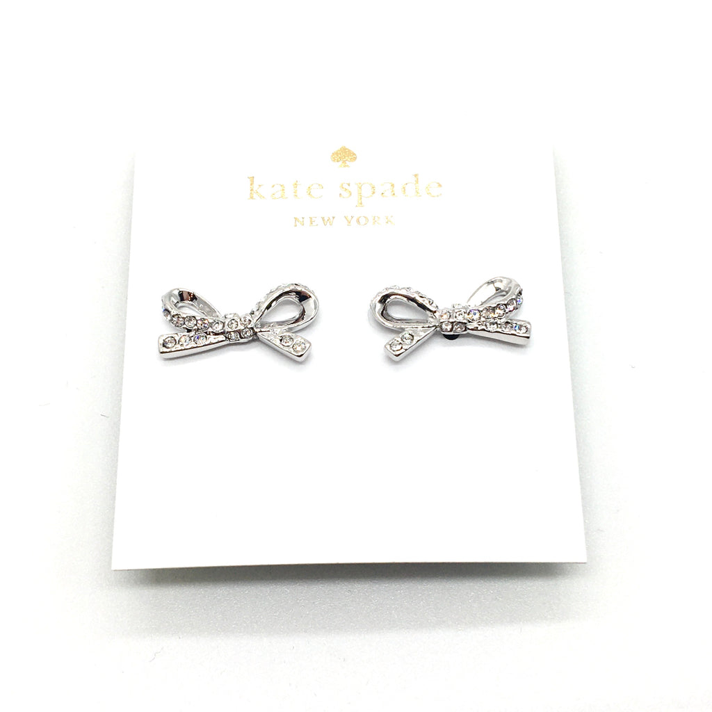 Kate Spade Silver Earrings