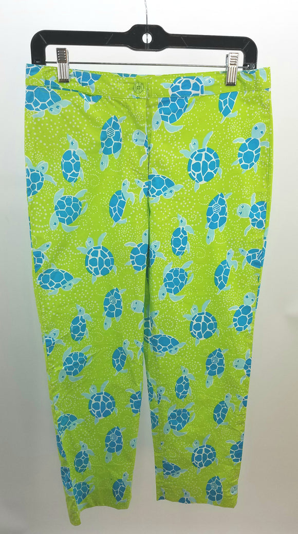 Lilly Pulitzer Green Pants, Crops