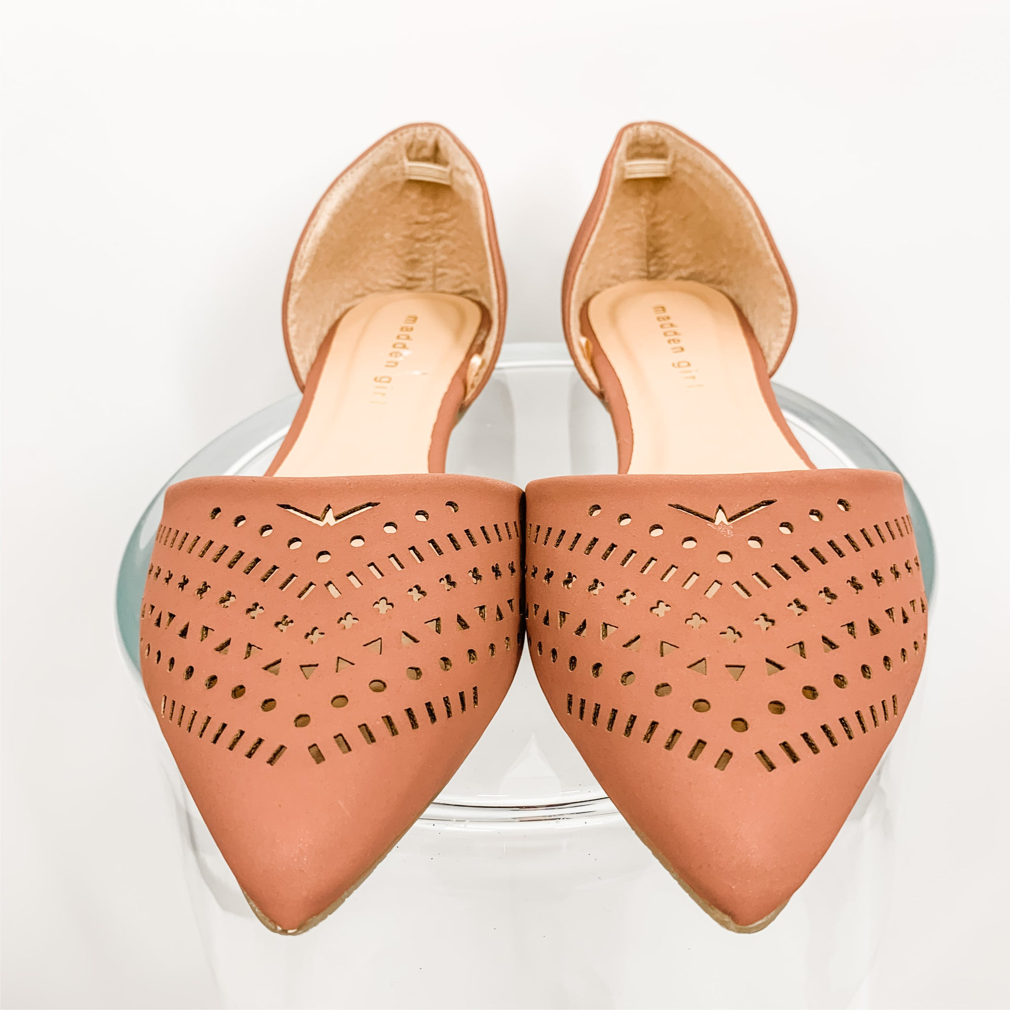 Madden Girl Brown Shoes, Flats