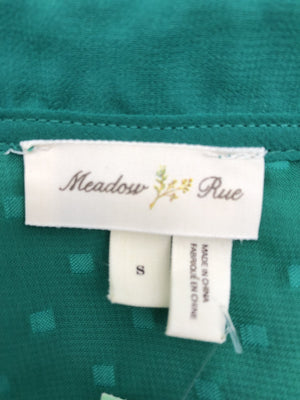 Meadow Rue (ANTH) Green Shirt