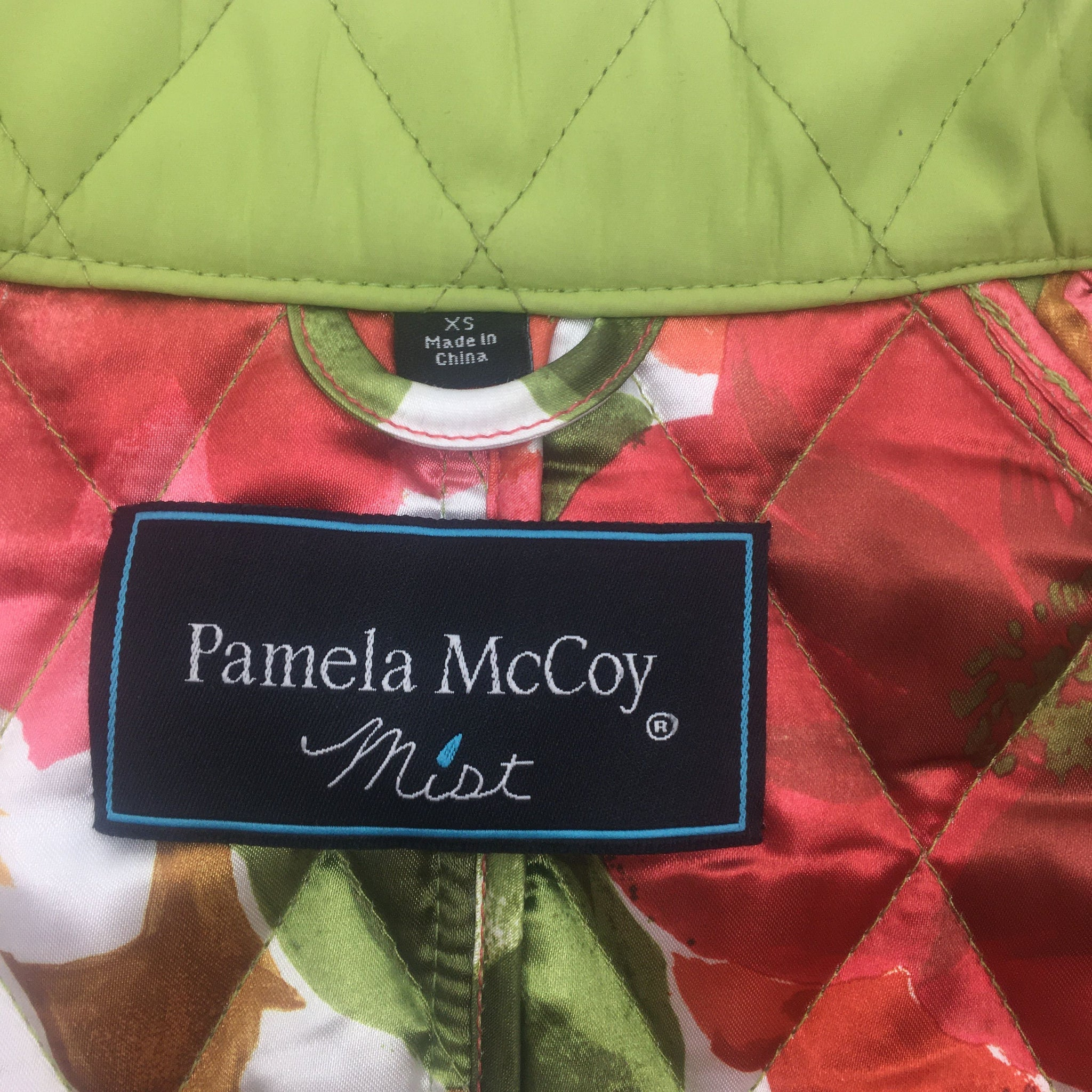 Pamela McCoy Green Jacket