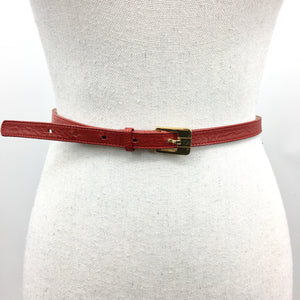 Pierre Cardin Red Belt, Chain