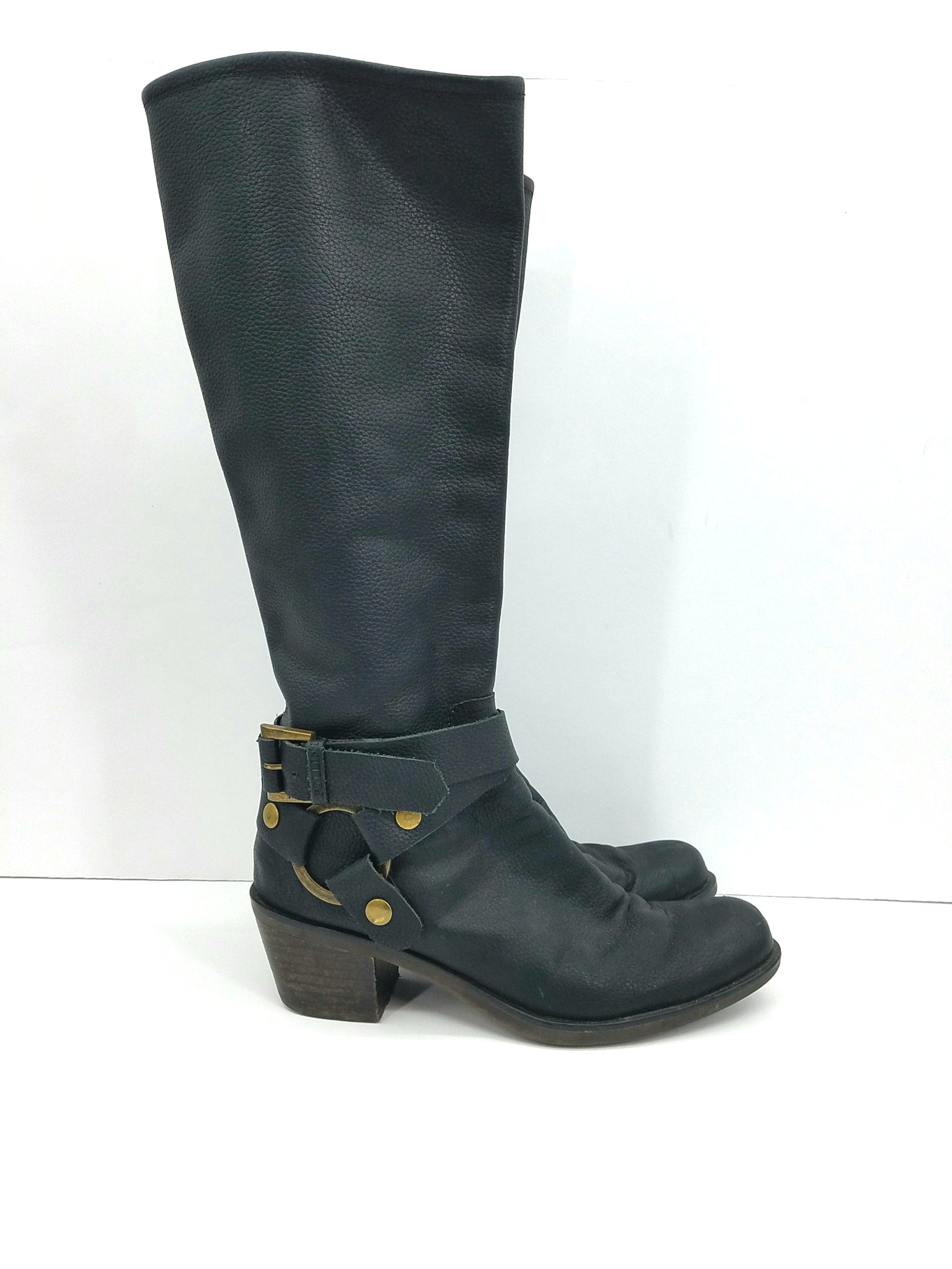 Polllini Black Shoes, Boots