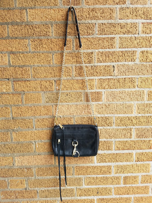 Rebecca Minkoff Black Purse, Crossbody