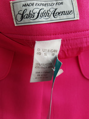 Saks 5th Avenue Pink Vintage