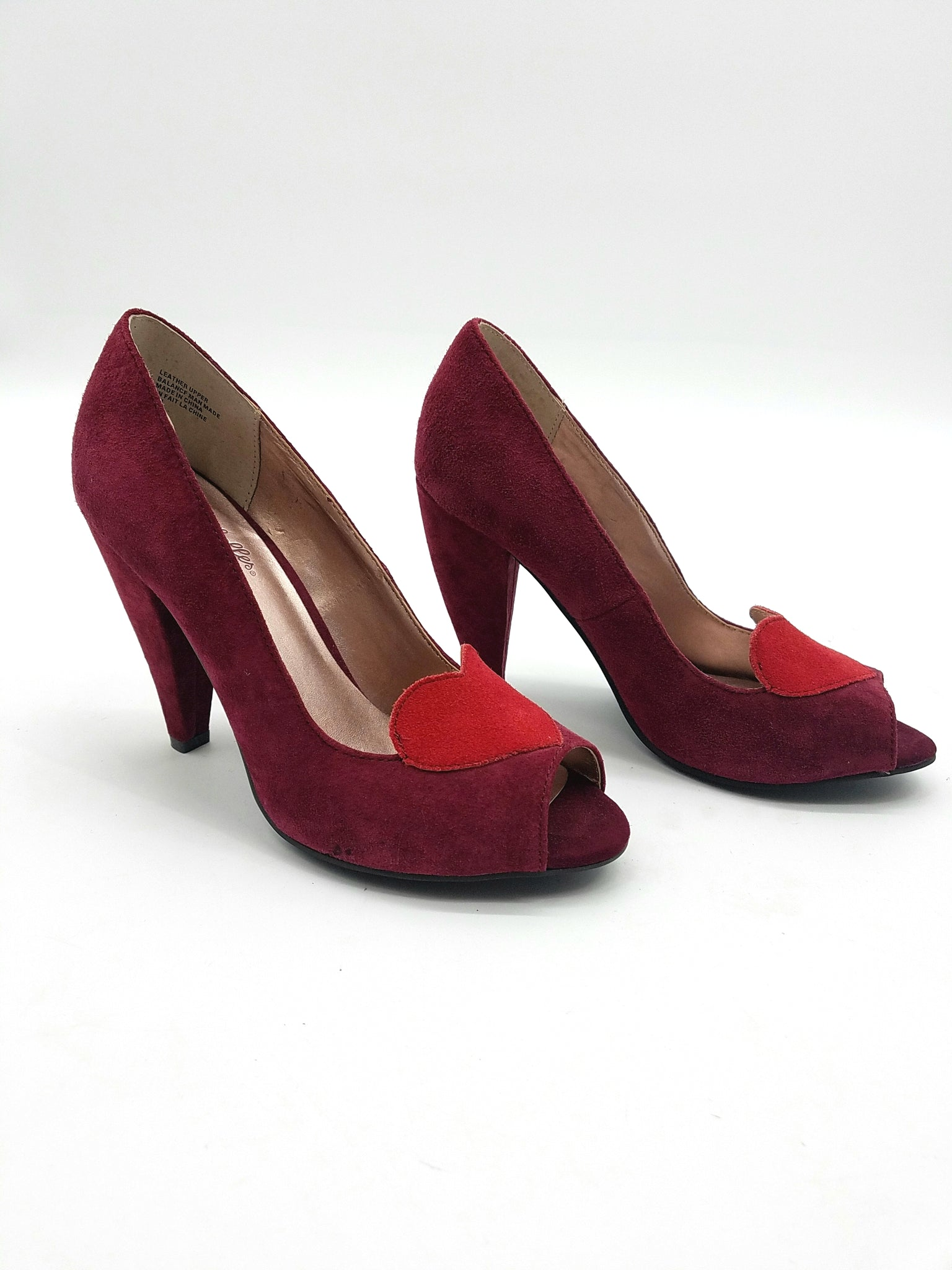 Seychelles Red Shoes, Heels