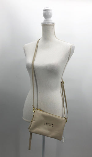 Shara Porter Ivory Purse, Crossbody