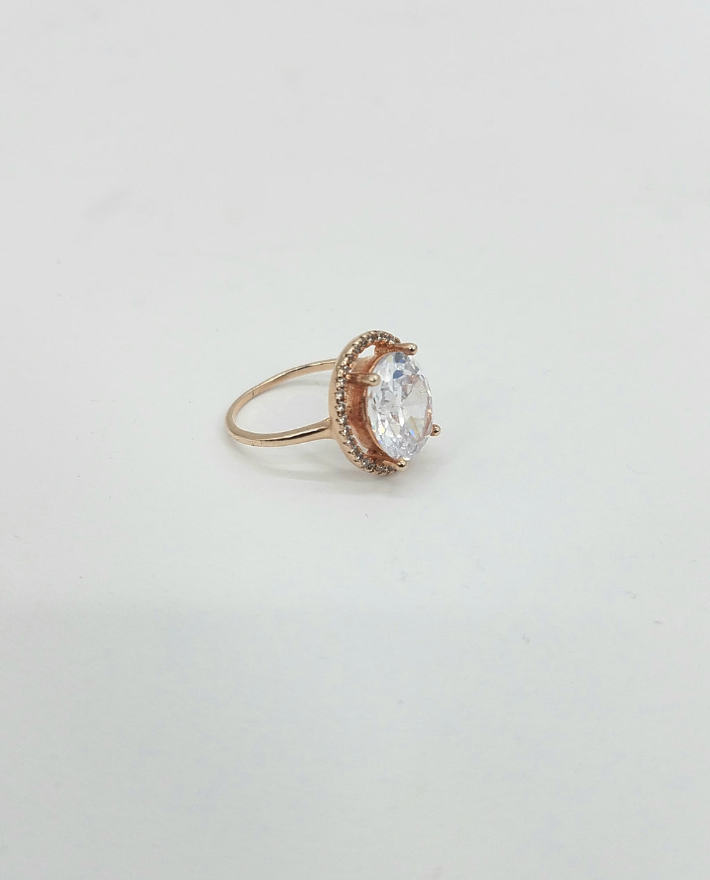Sterling Rose Gold Ring