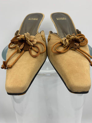 Stuart Weitzman Tan Shoes, Heels