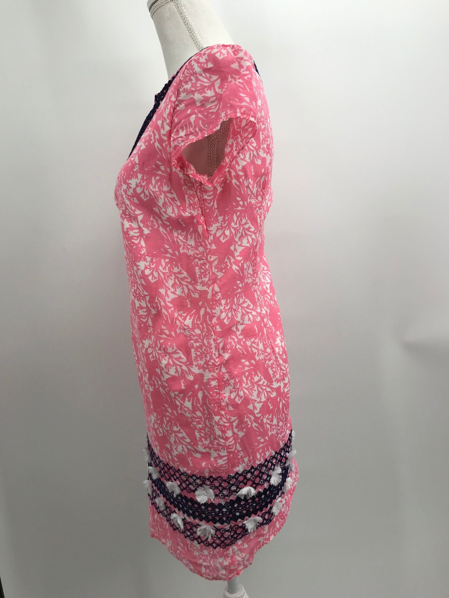 Vineyard Vines Pink & White Dress, Casual