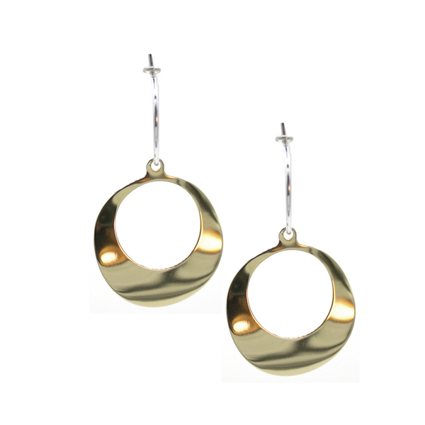 Melting Hoop Earrings