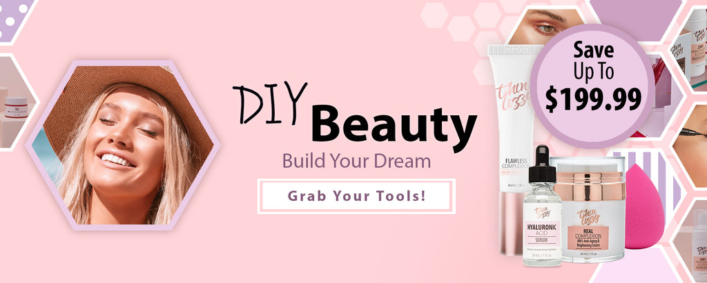 Thin Lizzy Beauty - DIY Beauty Banner