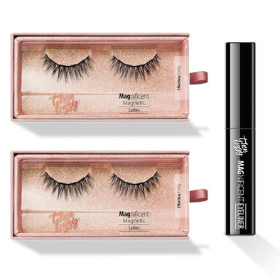 Magnificent Magnetic Lashes - Buy One, Get One Free! + Free Magnetic Eyeliner