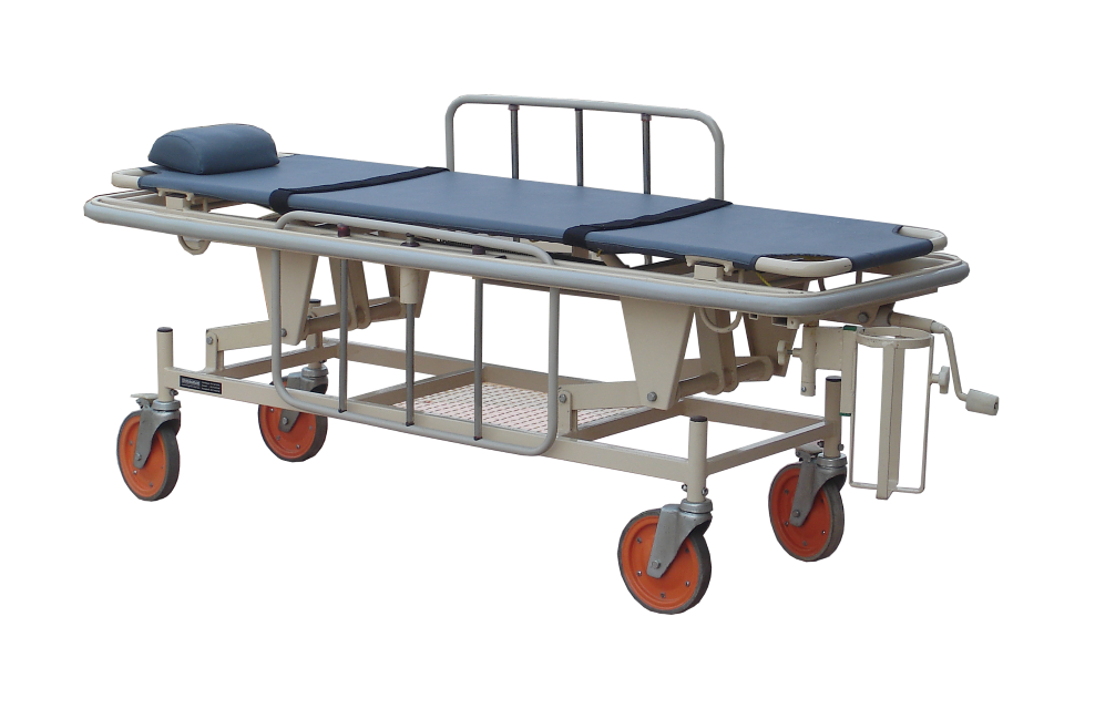 Hi Low Stretcher Trolley Strongman Type