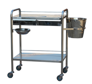 Dressing Trolley Stainless Steel Strongman Type