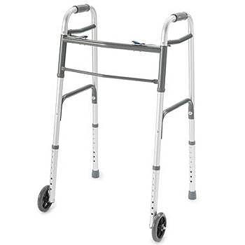 WALKER ADULT KY-965L-5 WITH WHEEL DOUBLE BUTTON