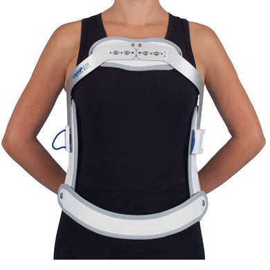BASIC SHORT HYPEREXTENSION BRACE WITH TILTED PELVIC BAND – Ref. C35PLUS BASIC & C35 PLUS BASIC SHORT