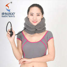 Neck Traction 3-Layers Self-adjusting cervical vertebra traction kit/ Reduce Reduce NeckPain