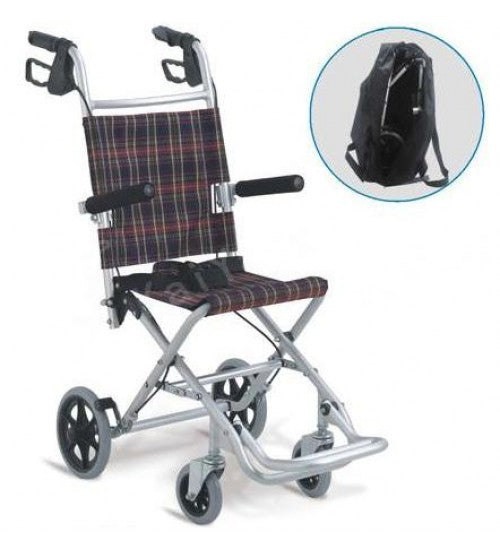 Aluminum Folding Traveling Wheel Chair KY9001