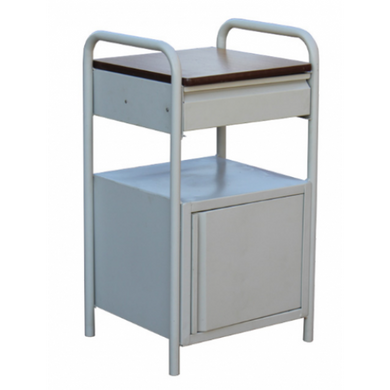 Bedside Locker Stainless Steel Top