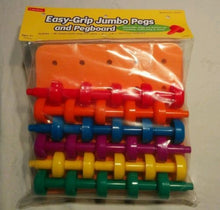 Easy-Grip Jumbo Pegs & Pegboard Ages 3+
