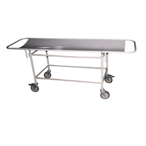 Stretcher Trolley Powder coated With Steel Top 20G