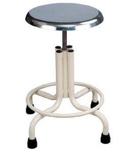 Patient Stool Steel Top Powder Coated 16G