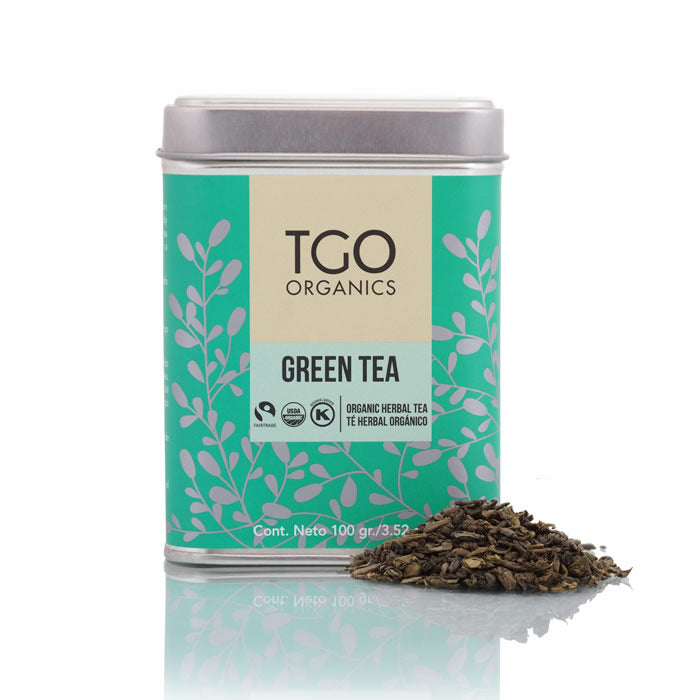 GREEN TEA TE HERBAL ORGANICO 100 GR