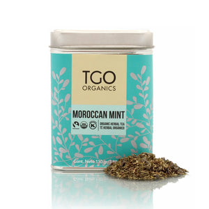 MOROCCAN MINT TE HERBAL ORGANICO 110 GR