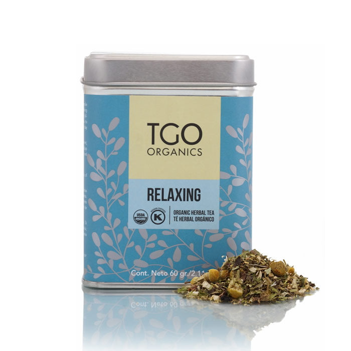 RELAXING TE HERBAL ORGANICO 60  GR